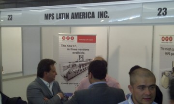 MPS Latin America booth at Label Summit Latin America 2014 in Colombia